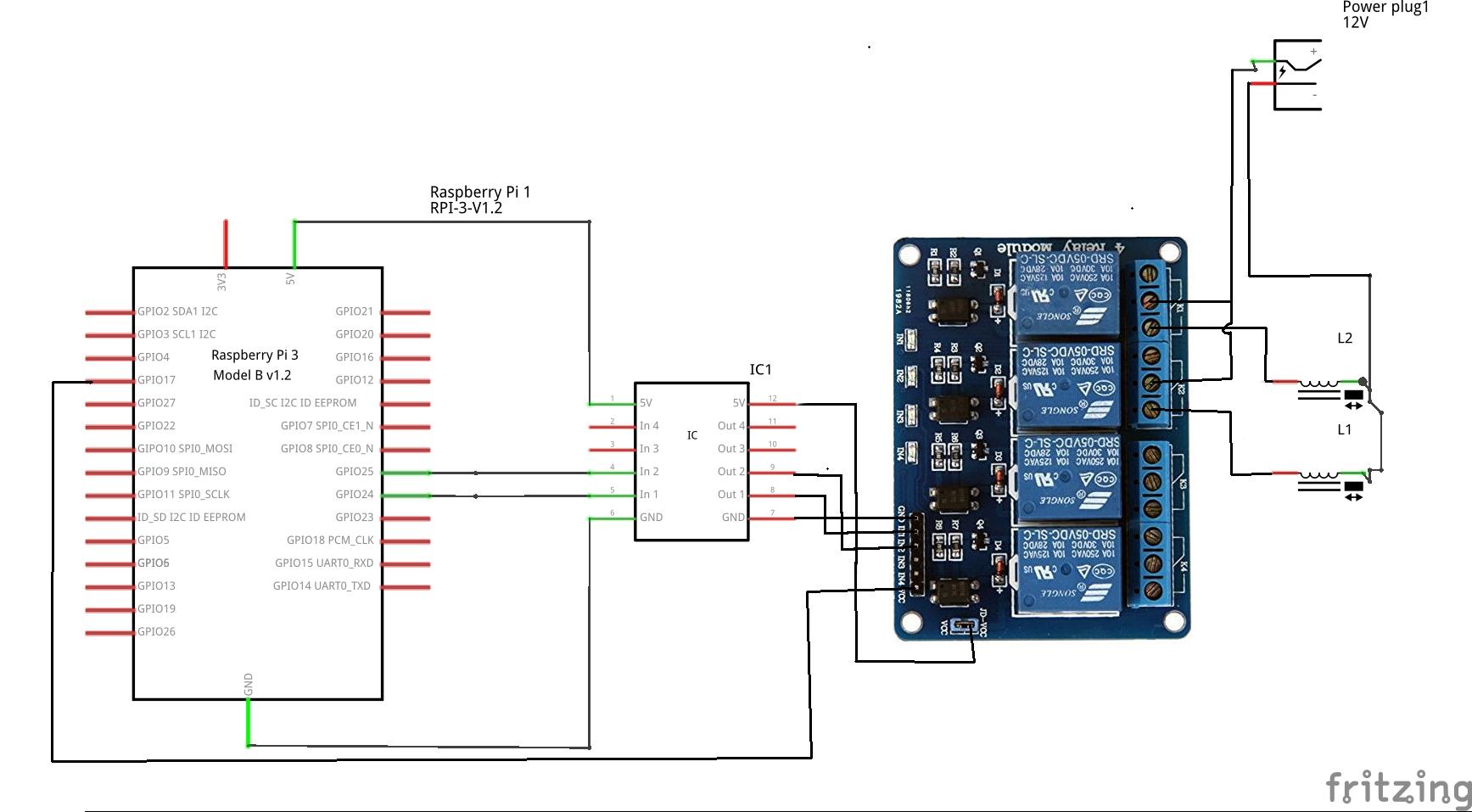 Zwei 12V Magnetventile über Relais ansteuern - Elektronik-Grundlagen ...