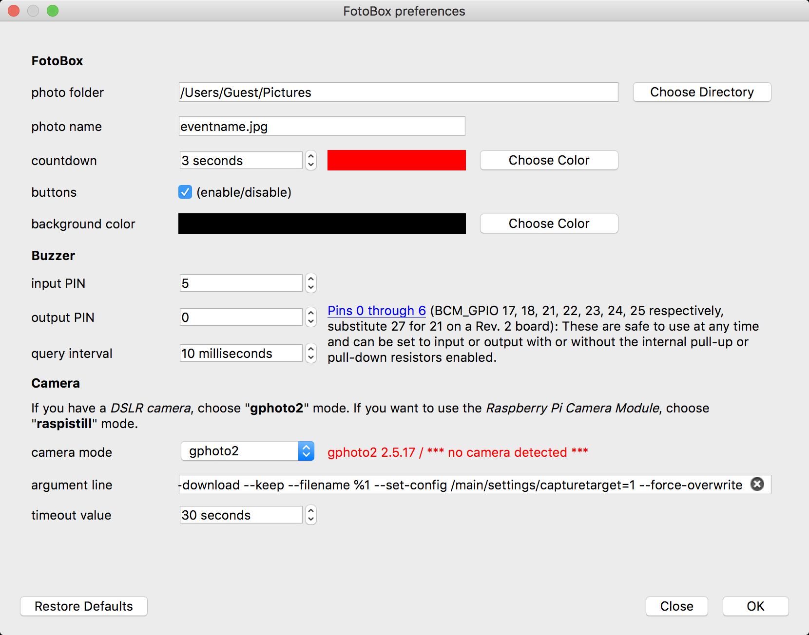 Enjoyable Fotobox Projekt Fur Den Raspberry Pi C Qt Wiringpi Gphoto2 Wiring Cloud Usnesfoxcilixyz