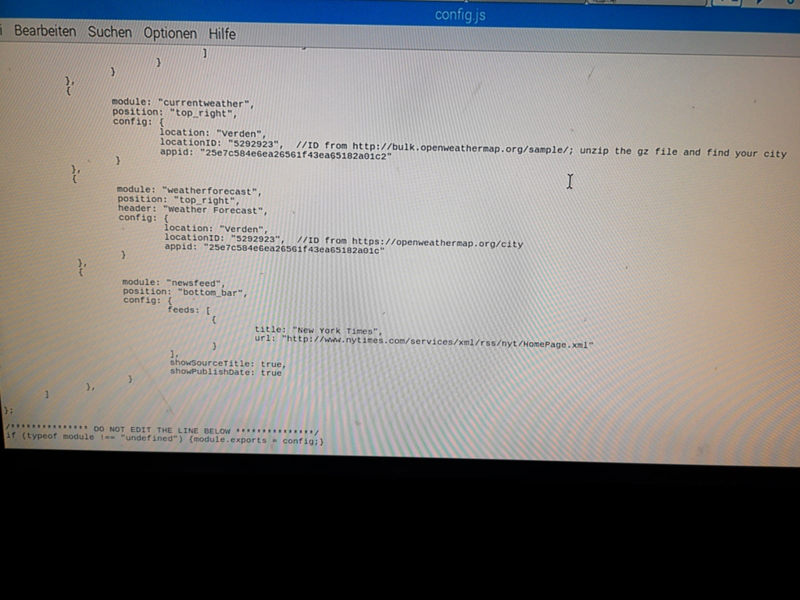 Raspberry Pi Konfigurieren