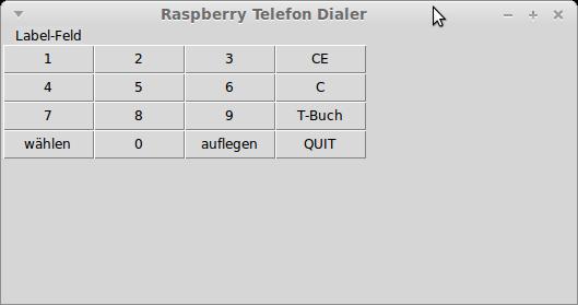 Häufig Tkinter Dialer Tool Layout anpasen und andere Fragen - Python CE15