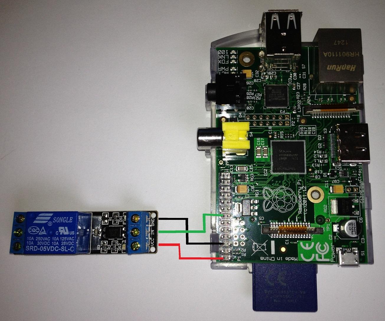Raspberry Pi GPIO + Relais - GPIO & Elektrotechnik - Deutsches ...
